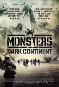 Monsters Dark Continent Poster